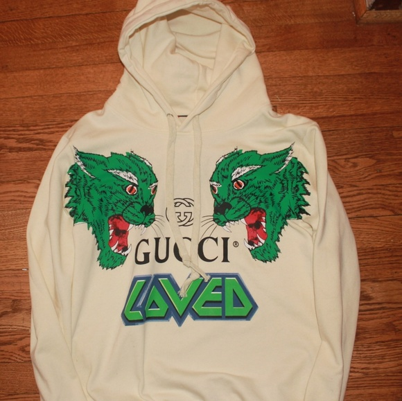 4f15d984991 Gucci Other - Gucci Loved Hoodie Sz Larger